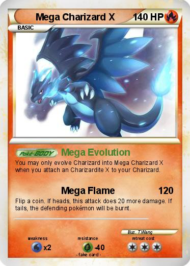 Pokemon Charizard Mega Evolution Card Pokemon Mega Charizard XEmboar Mega Evolution Card