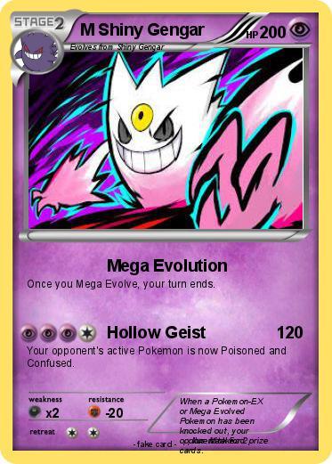 Pokémon M Shiny Gengar 2 2 - Mega - 48.1KB