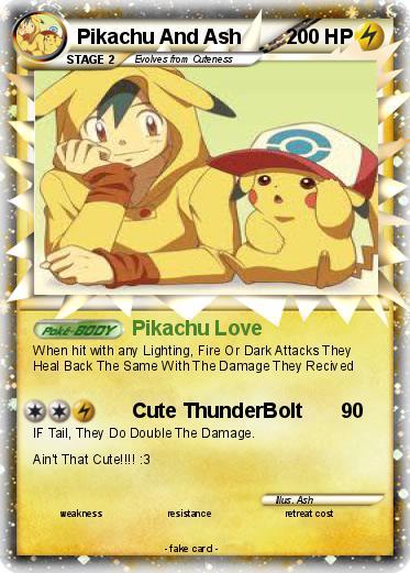 ash and pikachu relationship