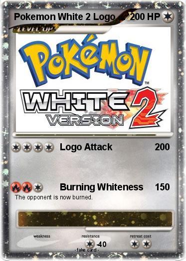 Pokemon White 2 Logo
