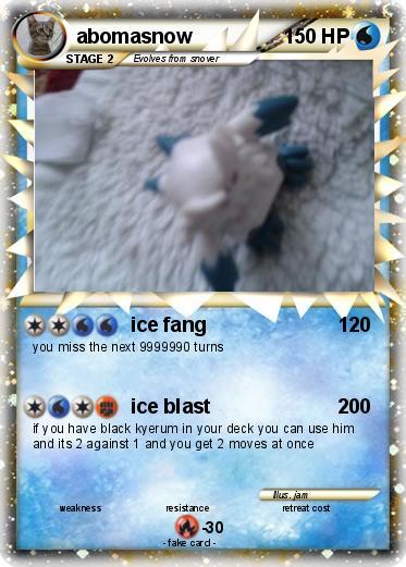 Mega Abomasnow Ex Card Related Keywords & Suggestions - Mega Abomasnow ...