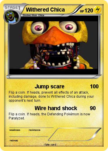 Pokemon Withered Chica 47