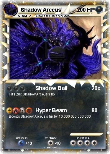 Pokemon Shadow Arceus Images | Pokemon Images