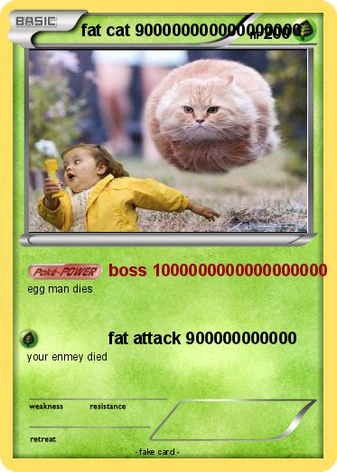 Pokémon fat cat 900000000000000000 900000000000000000 - boss ...