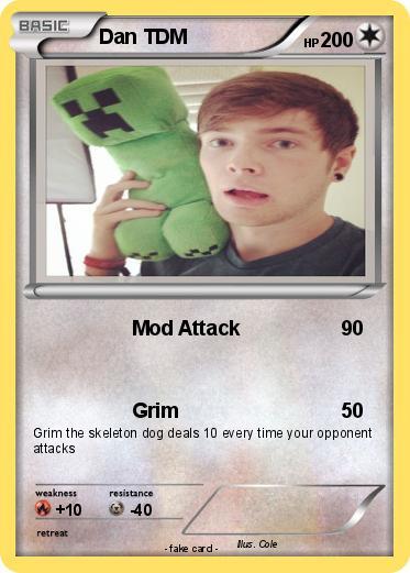 Pokmon Dan TDM 9 Mod Attack My Pokemon Card