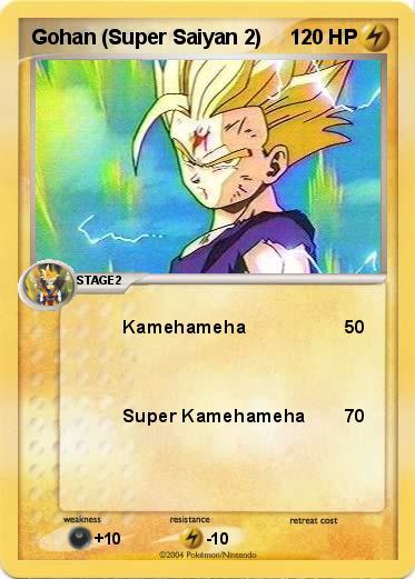 Name : Gohan (Super Saiyan 2). Type : Lighting. Attack 1 : Kamehameha