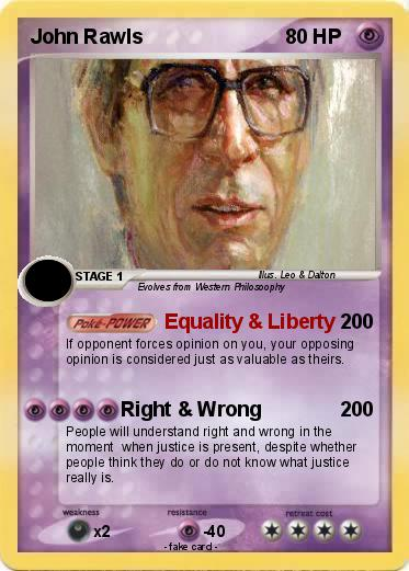 logical analysis on john rawls a John rawls founded his thought on his readings : mostly aristotle and the classics of english political philosophy (locke, hume, hobbes) his contractualism is partly inspired by rousseau but without a theory of the state of nature.