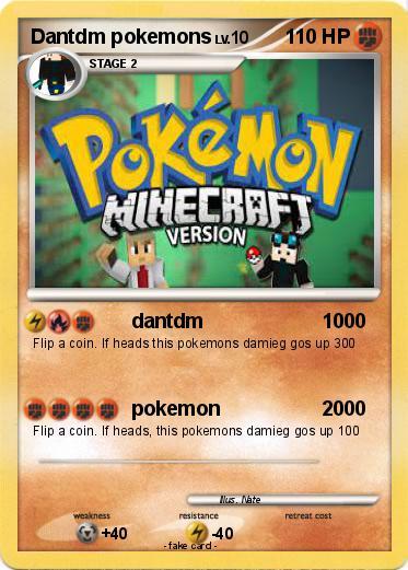 Pok mon dantdm pokemons dantdm 1000 my pokemon card - Mypokecard com ...