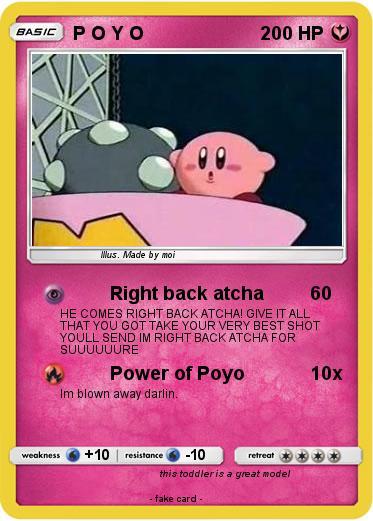 Pokemon P O Y O From smashwiki, the super smash bros. pokemon p o y o