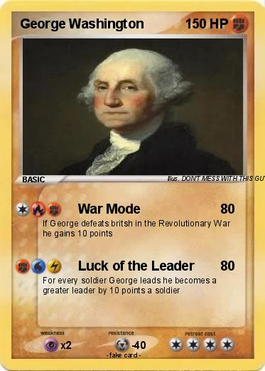 Pictures Of George Washington In The Revolutionary War. Pokemon George Washington