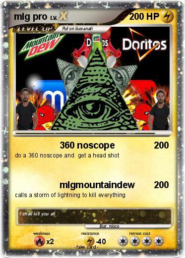 Pokmon Mlg Pro 18 360 Noscope My Pokemon Card
