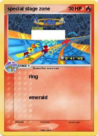 Pokémon special stage zone - ring - My Pokemon Card