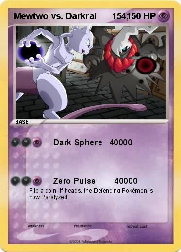 Mewtwo vs Darkrai