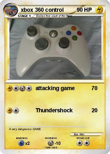 Pokemon Games For Xbox 1 : Pokémon xbox control attacking game my pokemon