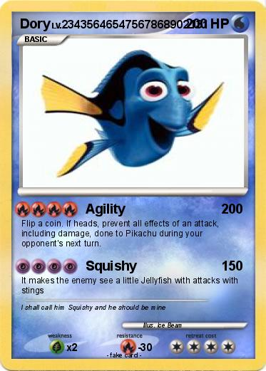 Pokemon Dory 17 17 - Agility - My Pokemon Card