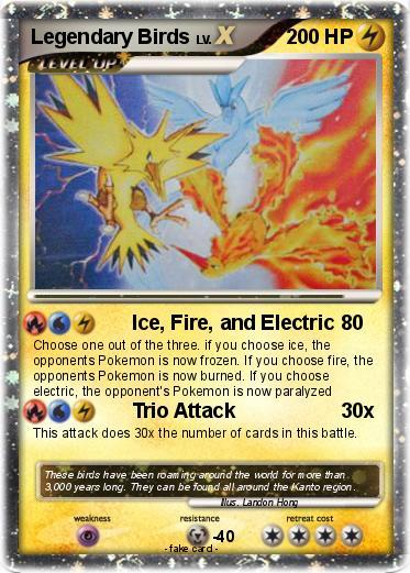 legendary electric pokemon - photo #40
