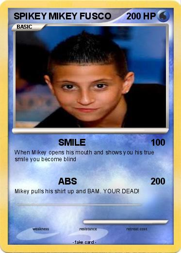 Pokemon SPIKEY MIKEY FUSCO