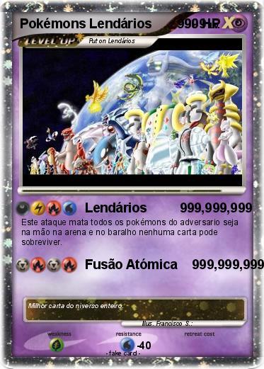 Cartas De Pokemon Lendario