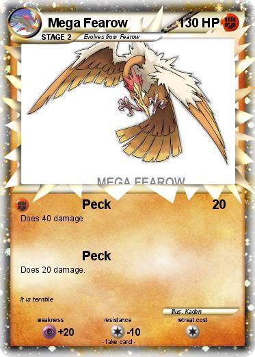 Pokemon Mega Fearow