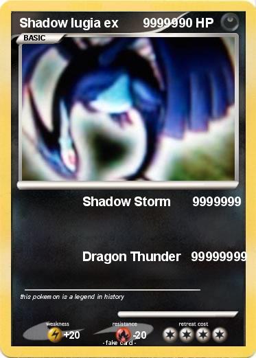 Shadow lugia ex ebay