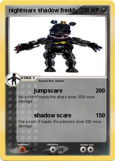 Shadow Nightmare Freddy