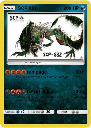 Pokemon SCP 682 34