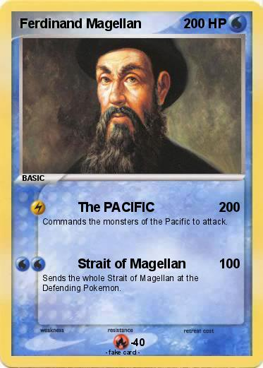 Pokmon Ferdinand Magellan 16 The PACIFIC My