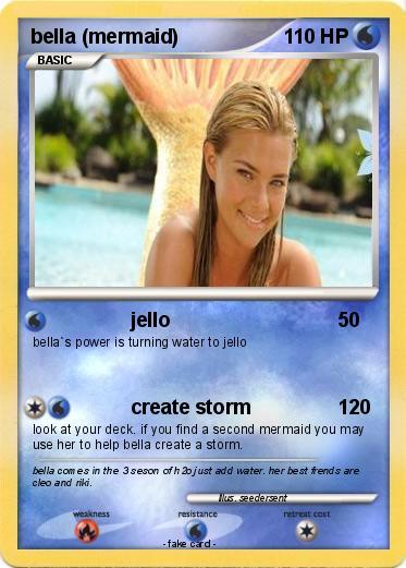 Pokemon bella  mermaid   H2o Just Add Water Bella Turns Into A Mermaid