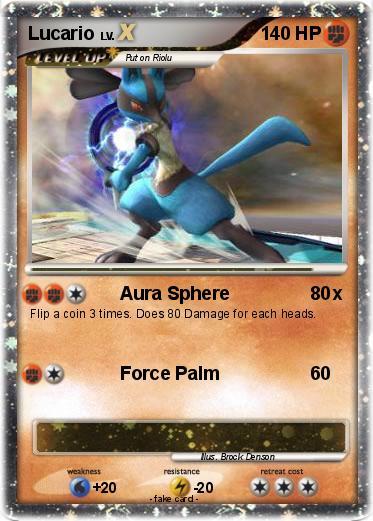 Pokemon Lucario Card Images   Pokemon Images