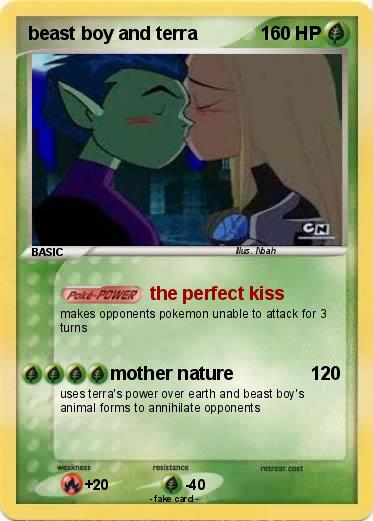 Pokémon Beast Boy And Terra