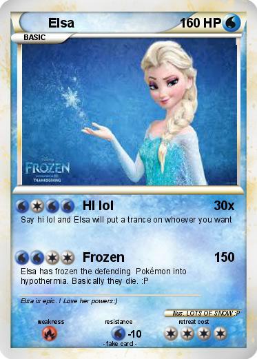 Pokemon Elsa Frozen