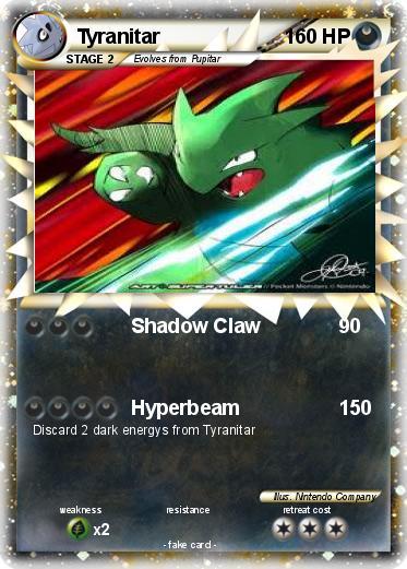 Tyranitar Pokemon Card Images | Pokemon Images