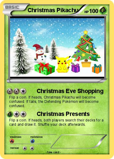 Pokemon Christmas.Pokemon Christmas Pikachu 48