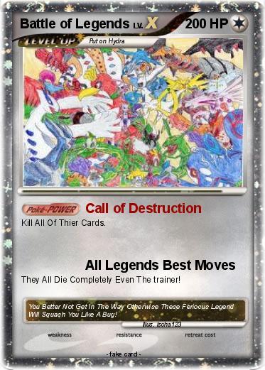 Pokemon Battle of Legends