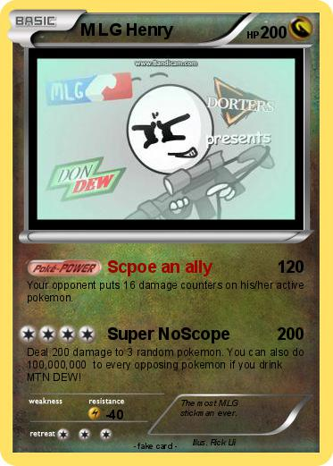 Pokémon Henry Hudson 10 10: Pokémon M LG Henry