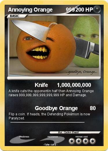 Annoying Orange Knife Theme Song Pokemon Theme Song | C...