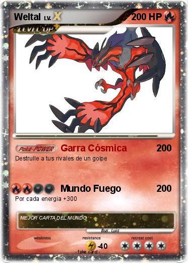 Pokmon Weltal Garra Csmica My Pokemon Card