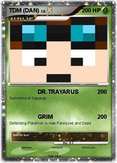 Pokmon TDM DAN 1 DRTRAYARUS My Pokemon Card