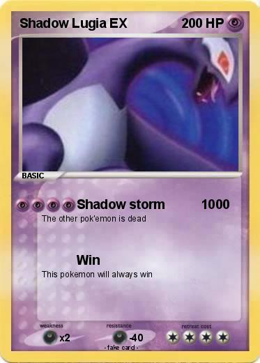 The gallery for --> Lugia Card
