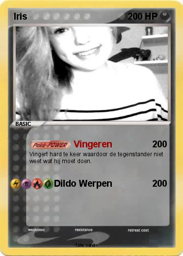 Pokémon Iris 144 144 - Vingeren - My Pokemon Card