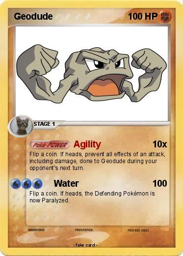 Geodude Card