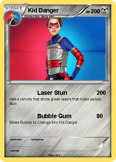 Pok 233 Mon Kid Danger 1 1 Laser Stun My Pokemon Card