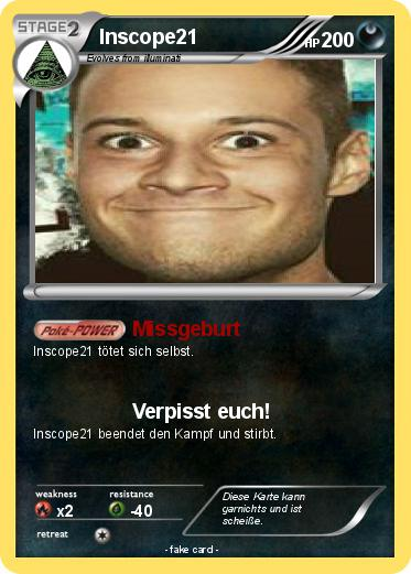 Pok 233 mon inscope21 3 3 missgeburt my pokemon card