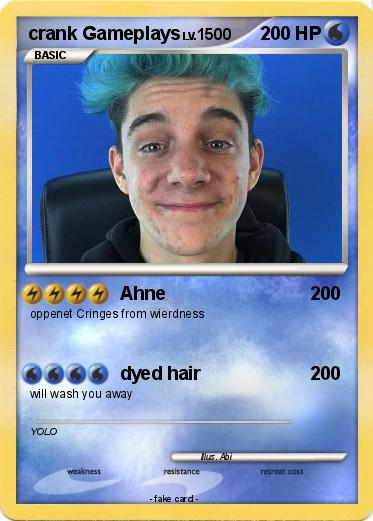 Pokmon Crank Gameplays Ahne My Pokemon Card