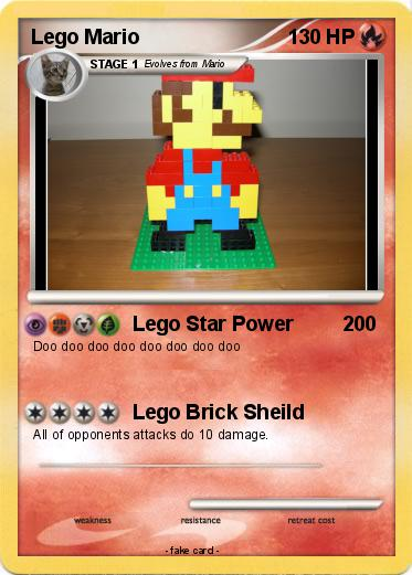 Pok mon lego mario 30 30 lego star power my pokemon card - Lego pokemon rayquaza ...