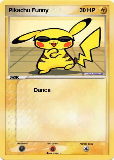 Funny pokemon pikachu