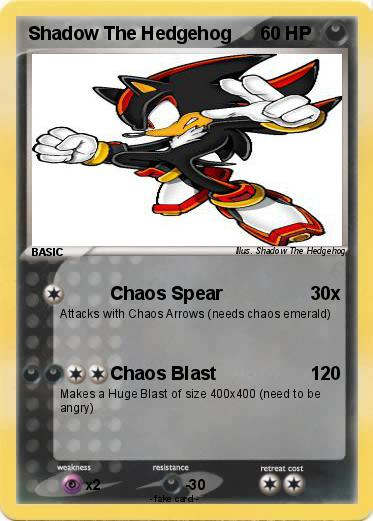 Pok mon shadow the hedgehog 378 378 chaos spear my - Shadow the hedgehog pokemon ...