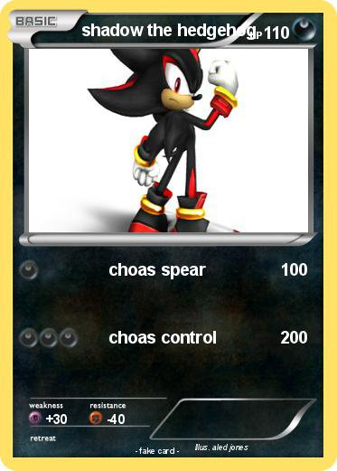 Pok mon shadow the hedgehog 423 423 choas spear my - Shadow the hedgehog pokemon ...