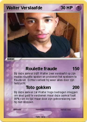 Pokemon roulette cards