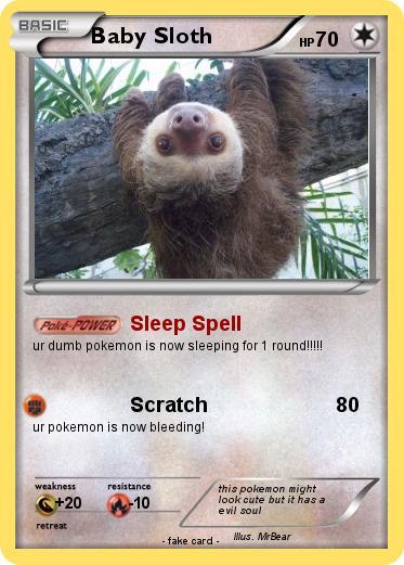 Pokemon Baby Sloth 7